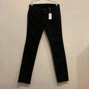 J Brand Low-Rise Pencil leg Black Jean NWT